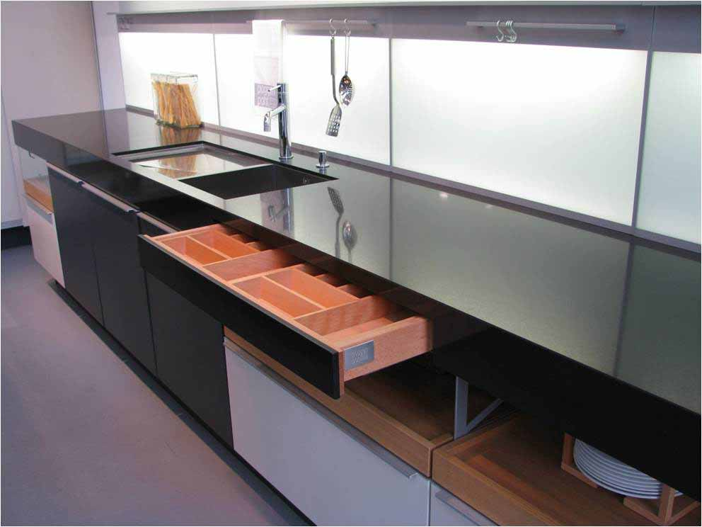 clever kitchen design. Built in countertop drawer Clever kitchen storage Archives  Seyie Design